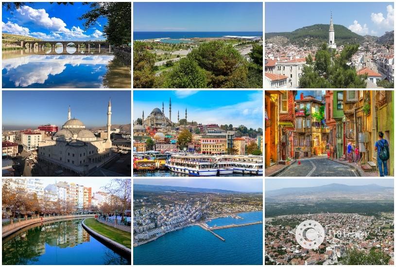 شهرهای مختلف ترکیه برای خرید ملک